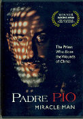 DVD Padre Pio Miracle Man